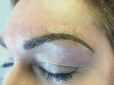Ombre with Microblading